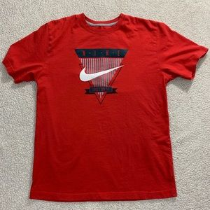 Nike Classic 'just do it' tee men's large